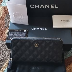 Chanel Classic Long Zipped Wallet